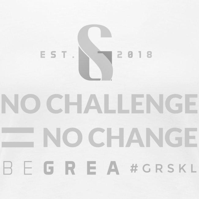 No Challenge = No Change