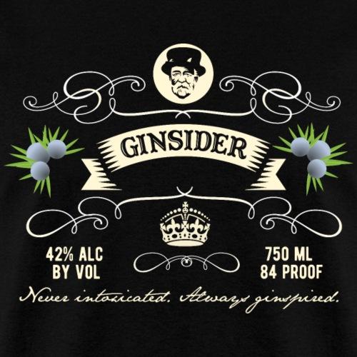 Gin T Shirt Ginsider