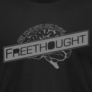 Freethought - Men's T-Shirt by American Apparel