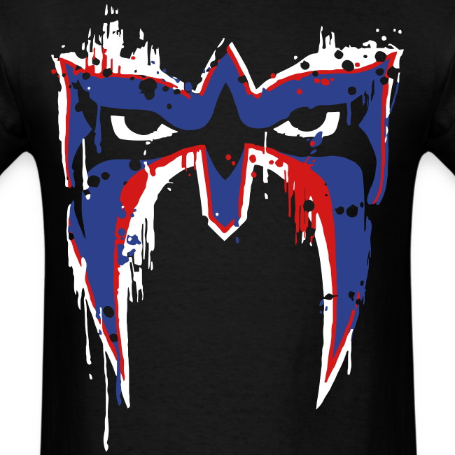 Ultimate Warrior USA War Paint Shirt