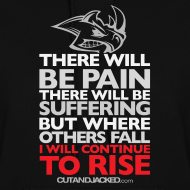 Design ~ There will be pain | CutAndJacked |Womens hoodie