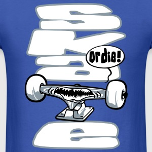 Skateboard truck flex T-Shirts - Men's T-Shirt