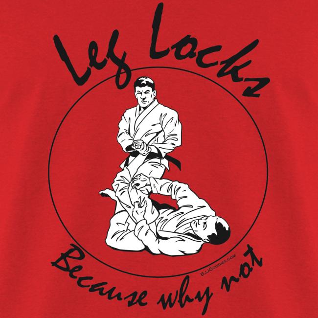 Leg Locks - Jiu Jitsu - Men - bw