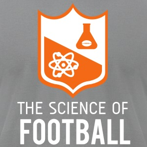 The Science of Football - Grey - Men's T-Shirt by American Apparel