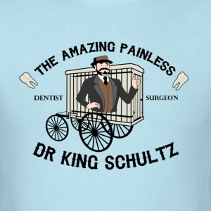 Django Unchained - Christophe Waltz King Schultz T-Shirts - Men's T-Shirt