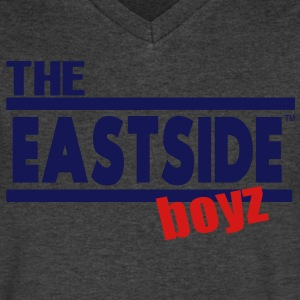 The EAST SIDE boyz T-Shirts - Men's V-Neck T-Shirt by Canvas