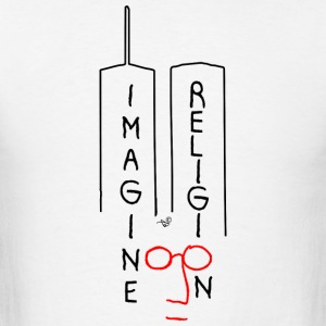Imagine NO Religion by Tai's Tees - Men's T-Shirt