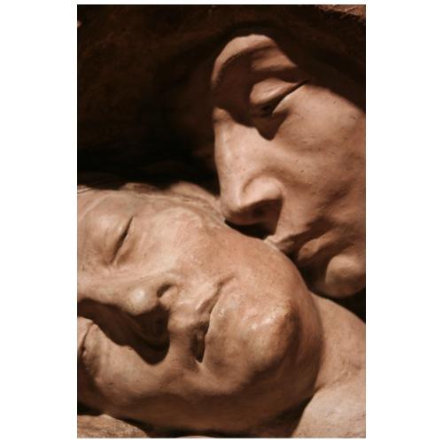 Death Kiss statue