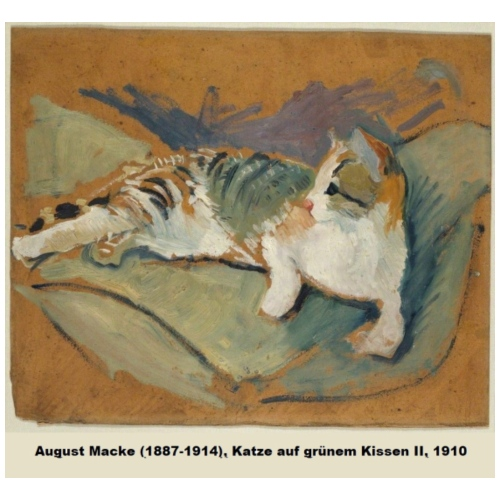 August Macke Katze - Cat