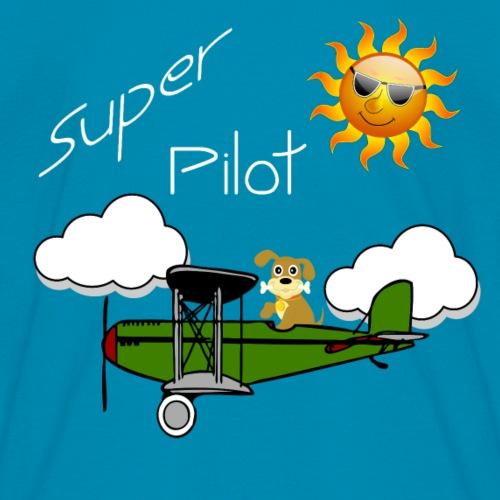 Plane With Dog Driver Super Pilot