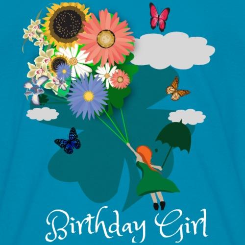 Flowers, Butterflies, Birthday Girl
