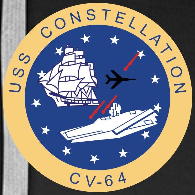 USS CONSTELLATION CV-64 WESTPAC/I.O. CRUISE 1978-79 HOODIE