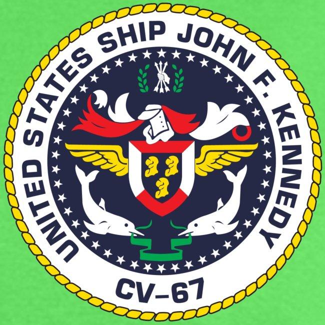 USS JOHN F KENNEDY CV-67 1976 NORLANT  CRUISE SHIRT