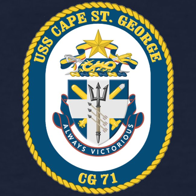 USS CAPE ST GEORGE 2001 WOMENS CRUISE SHIRT - FAMILY