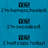 Design ~ Yes! I'm homeschooled.