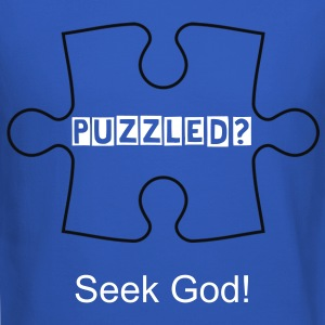 Puzzled? Seek God! shirt - Crewneck Sweatshirt