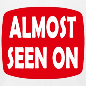 Almost Seen On - Men's T-Shirt by American Apparel