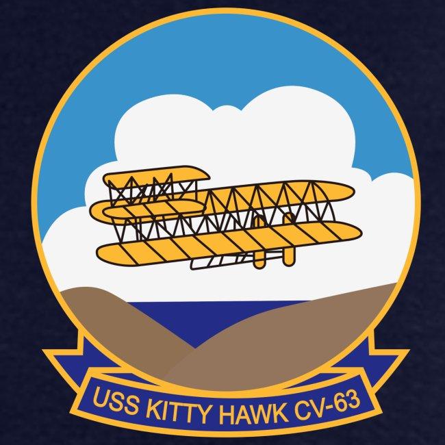 USS KITTY HAWK CV-63 WESTPAC/I.O./ ARABIAN SEA CRUISE 1979-80 CRUISE SHIRT