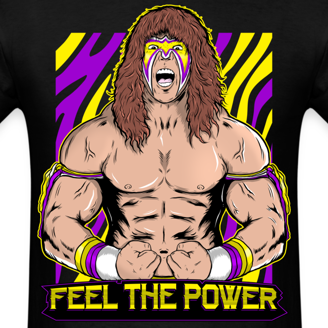 Ultimate Warrior Feel The Power Shirt