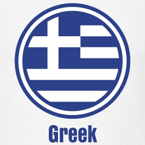 merkel euro greece flag T-Shirts - Men's T-Shirt