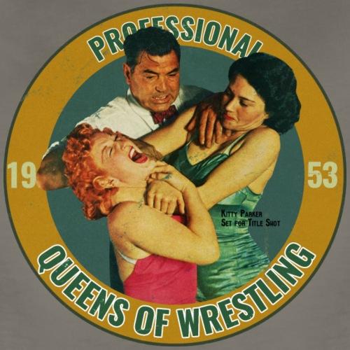 Vintage Ladies Wrestling