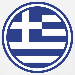 greece greek euro athen flag Women's T-Shirts - Women's T-Shirt