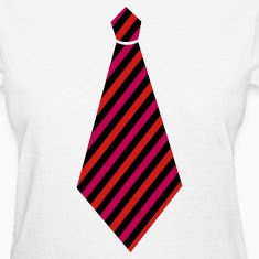 tie necktie bow Women's T-Shirts