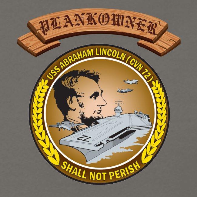 USS ABRAHAM LINCOLN PLANKOWNER CREST SWEATSHIRT