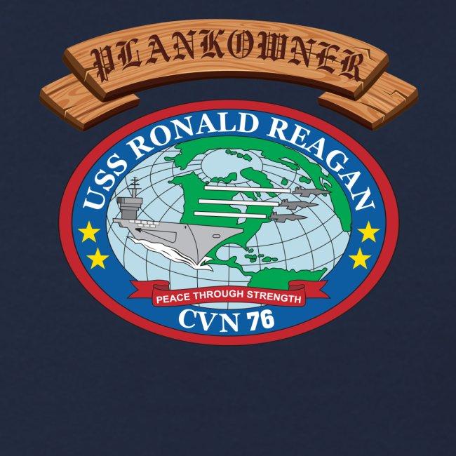 USS RONALD REAGAN PLANKOWNER CREST SWEATSHIRT
