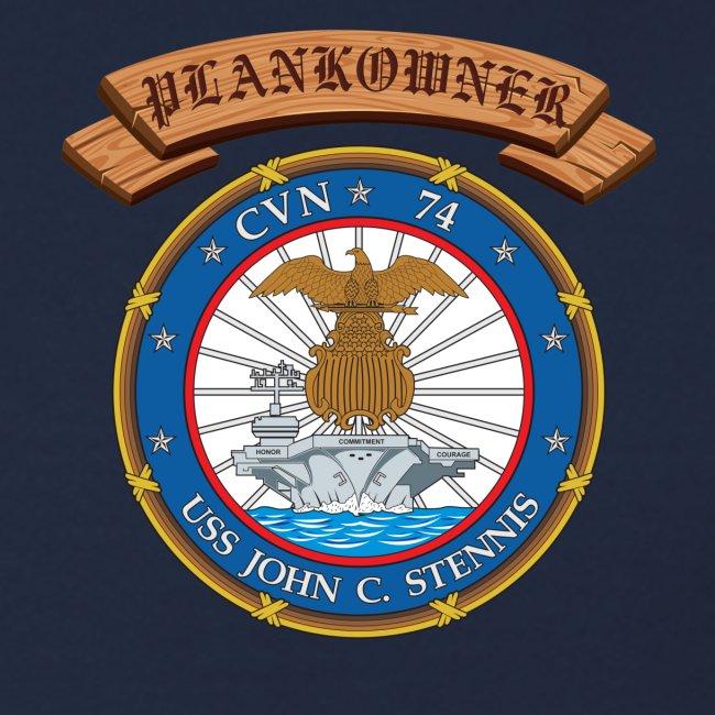 USS JOHN C STENNIS PLANKOWNER CREST SWEATSHIRT
