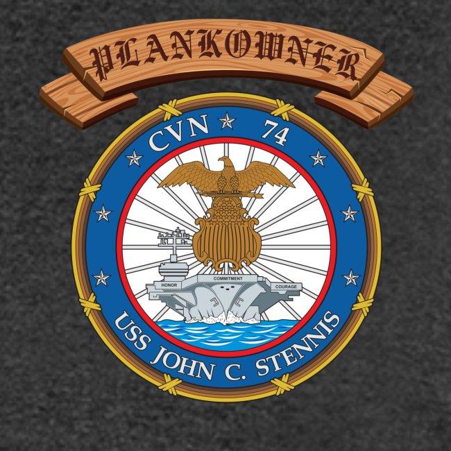 USS JOHN C STENNIS PLANKOWNER CREST SHIRT