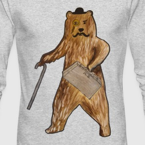 City bear Long Sleeve Shirts - Men's Long Sleeve T-Shirt by Next Level