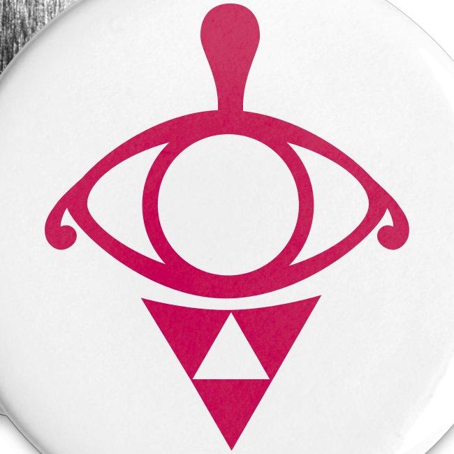 "A New Calamity: Linke's Tattoo 2 1/4"" button (set of 5)"