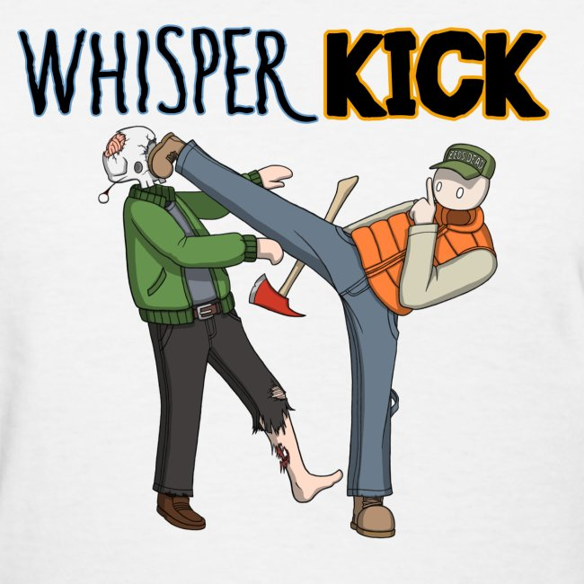 Women can Whisper Kick too!