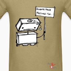 Robots with Feelings T-Shirts