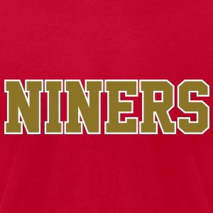 Niners T-Shirts - Men's T-Shirt by American Apparel