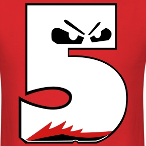 Retro 5 Fire Red Shirt 2 T-Shirts - Men's T-Shirt