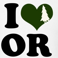 I Heart Oregon (tree heart)