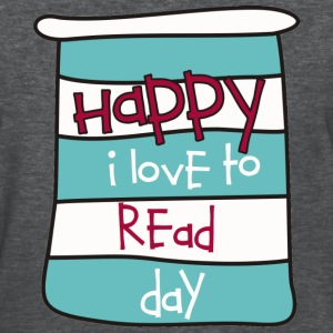 Happy I Love to Read Day Women's T-Shirts - Women's T-Shirt
