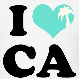 I Heart California (palm tree heart) - Men's T-Shirt