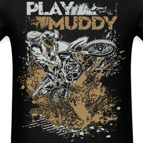 Dirt Bike Play Muddy