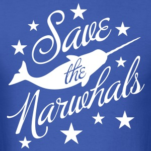 Save the Narwhals! T-Shirts - Men's T-Shirt