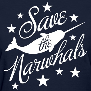 Save the Narwhals! Women's T-Shirts - Women's T-Shirt