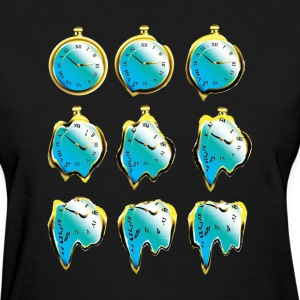 Melting Dali Clocks - Women's T-Shirt