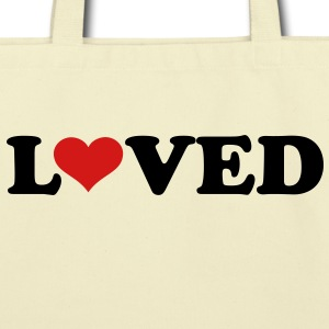 Loved heart Bags  - Eco-Friendly Cotton Tote