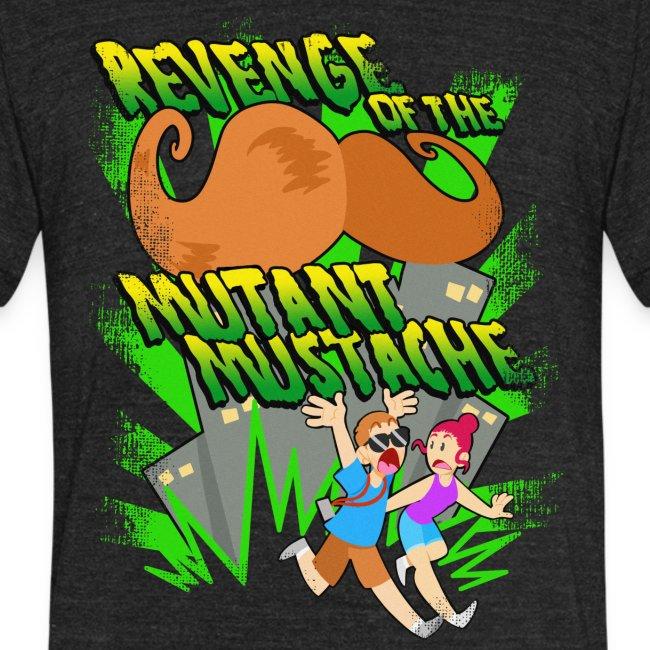 e87909115 TheTimTracker   Mustache Revenge Tri-Blend - Unisex Tri-Blend T-Shirt