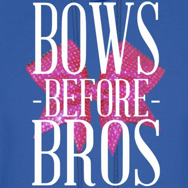 Bows before Bros sweatshirt
