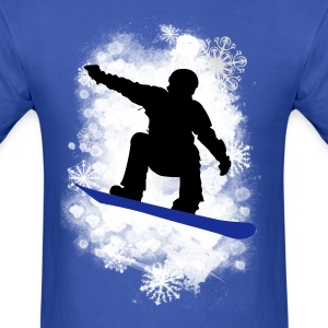 Snow and Snowflakes T-Shirts - Men's T-Shirt