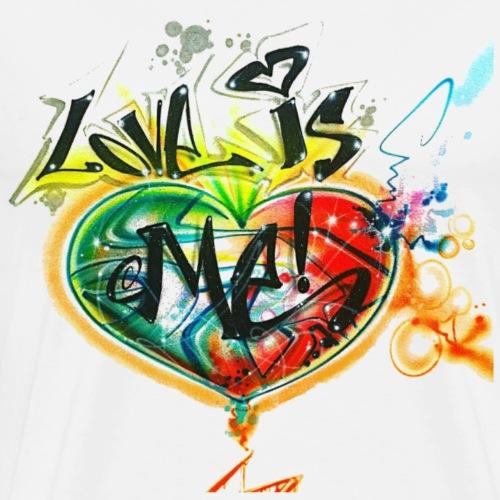 love is me graffiti tag
