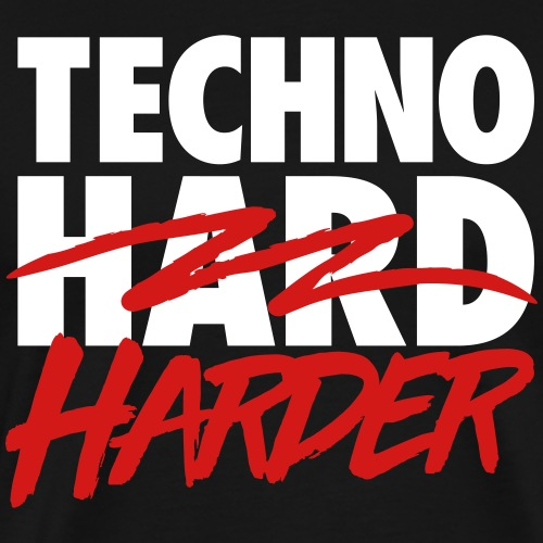 Techno harder